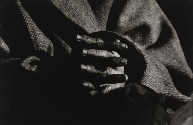 Jean's hands c.1980 by Don McCullin born 1935