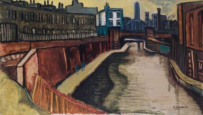 Strenitz, Kathe, b.1923; Camden Town, Regent's Canal
