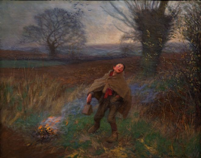 'Bridscaring' by Sir George Clausen